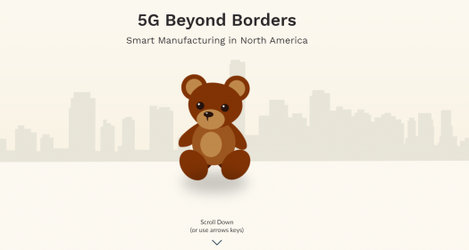 5G Beyond Borders Smart Manufacturing Title Screen