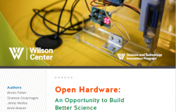 Open Hardware: An Opportunity to Build Better Science Cover